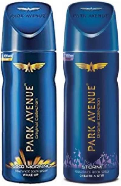 PARK AVENUE Good Morning + Storm Body Spray 2Pcs ML5135 Body Spray  -  For Men