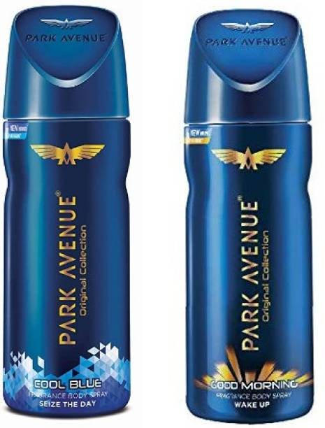 PARK AVENUE Cool Blue + Good Morning Body Spray 2Pcs AM5981 Body Spray  -  For Men