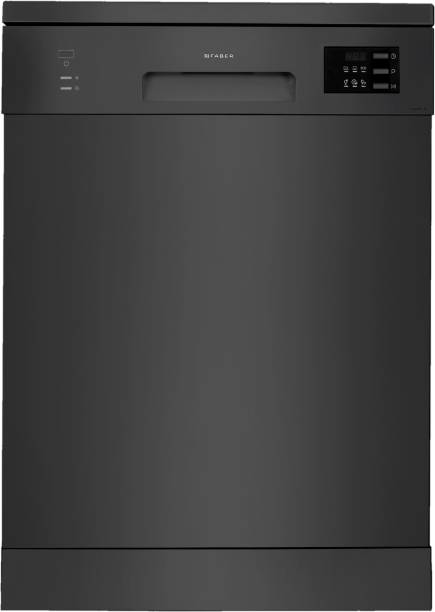 FABER FFSD 6PR 12S BK Free Standing 12 Place Settings Dishwasher