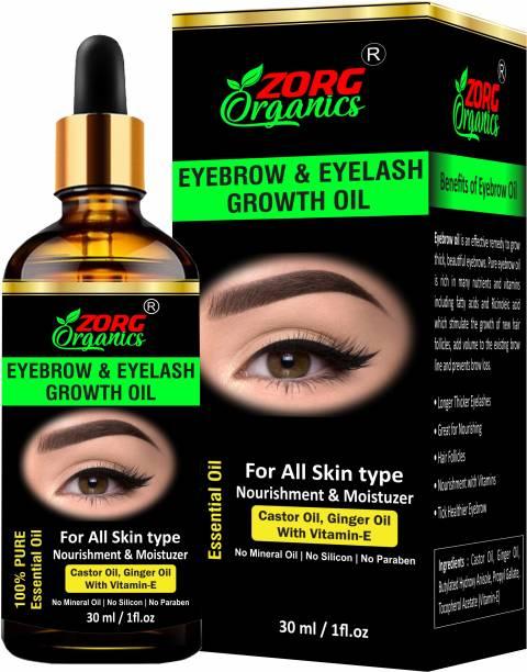 Zorg Organics Eyebrow & Eyelash Growth Oil for women 30 ml