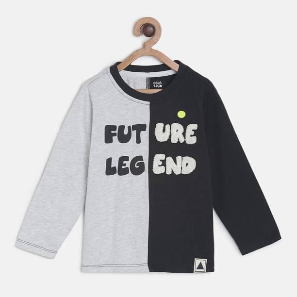 MINI KLUB Baby Boys Printed Pure Cotton T Shirt