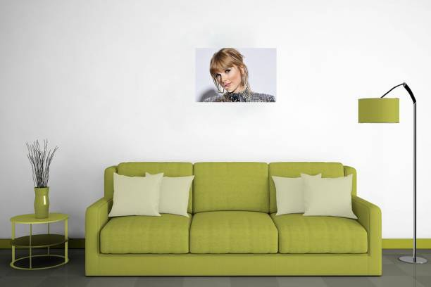 Poster | Model Poster | Taylor Swift | Wall Décor | Poster For Wall | Self Adhesive Poster -300 GSM- (18x12) Paper Print