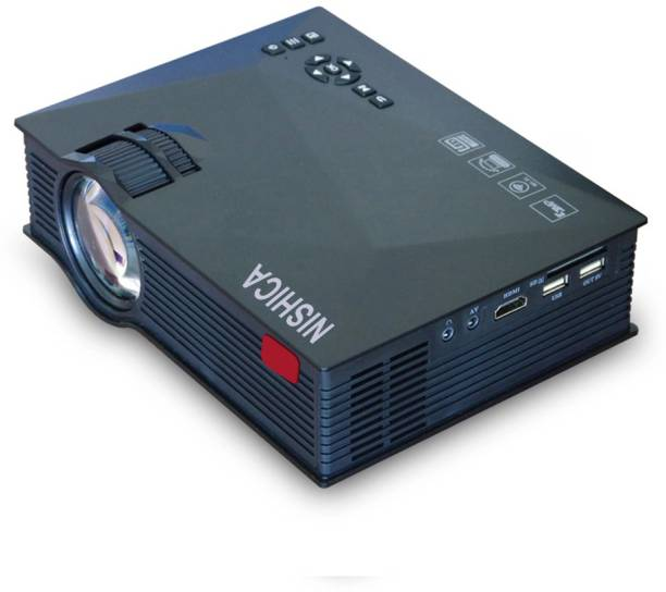 NISHICA UC68 PRO FullHd Led Projector 115inch Portable Projector