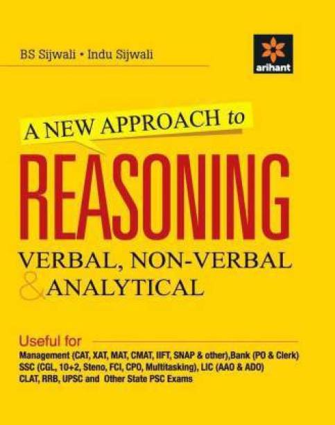 ARIHANT A New Approach To Reasoning Verbal & Non-Verbal - Verbal, Non - Verbal & Analytical 2nd Edition
