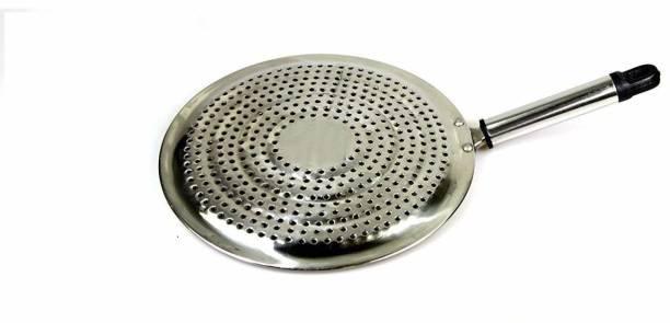 mahavir hp Multipurpose Roaster Grill tandoor papad Jali / Chapati Toast Grill/paneer tandoor net/brinjal Roaster / Gas Stove Barbeque (20 cm) stainless steel 1 kg Roaster