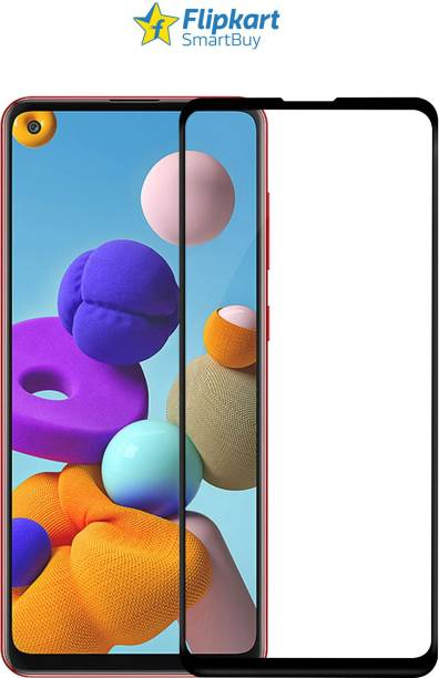 Flipkart SmartBuy Edge To Edge Tempered Glass for Oppo A33, Samsung Galaxy A21s