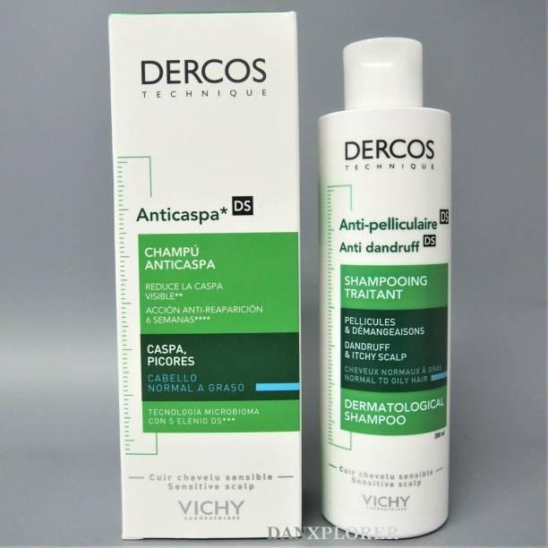 Vichy Dercos Anti-Dandruff DS Shampoo for Normal to Oily Hair 200ml