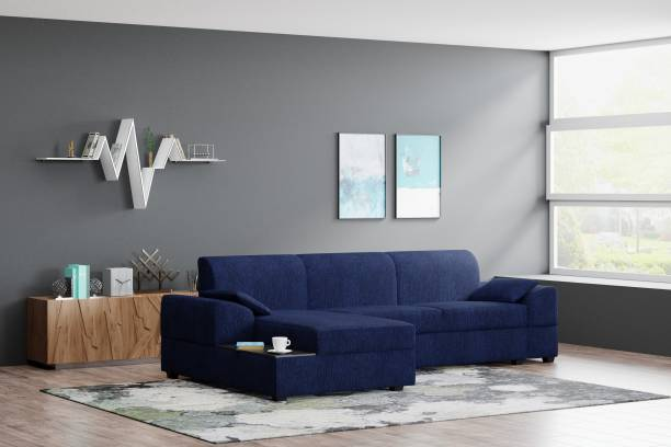 Flipkart Perfect Homes Nova Left facing Fabric 5 Seater  Sofa
