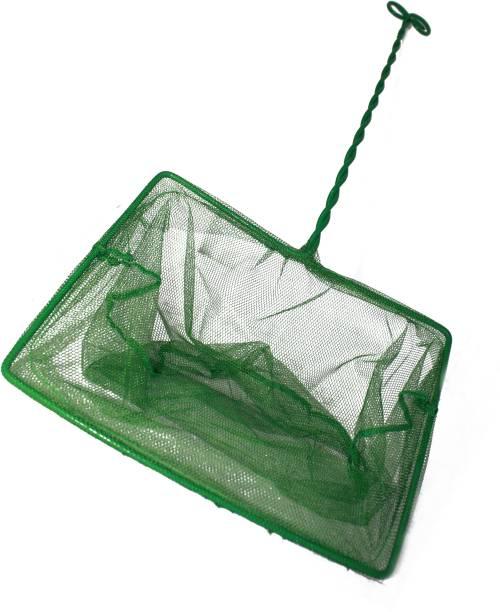 ADIOS Green Aquarium Fish Net, Fish Net for Fish Tank Mesh Fine Nylon Net Safe for All Fish LFN Aquarium Fish Net