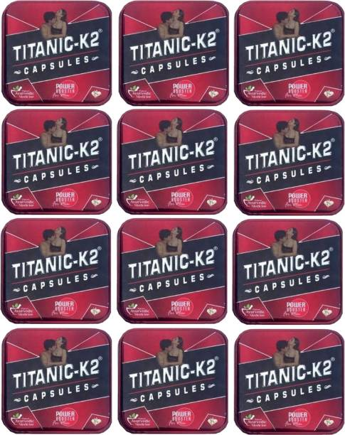 TITANIC-K2 Ayuevedic power booster capsule