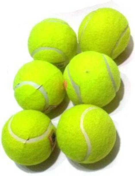SH SPORT CRICKET TANNIS BALL PACK OF 6 Cricket Tennis Ball (Pack of 6 ) Tennis Ball