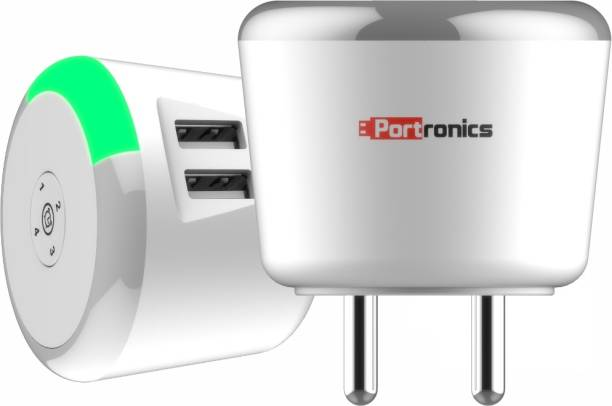 Portronics ADAPTO 469 Charger with Time Control 3.1 A Multiport Mobile Charger