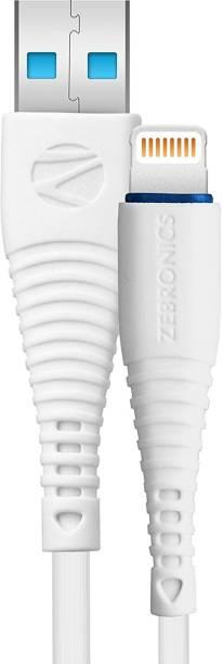 ZEBRONICS Zeb-ULC101 1 m Lightning Cable