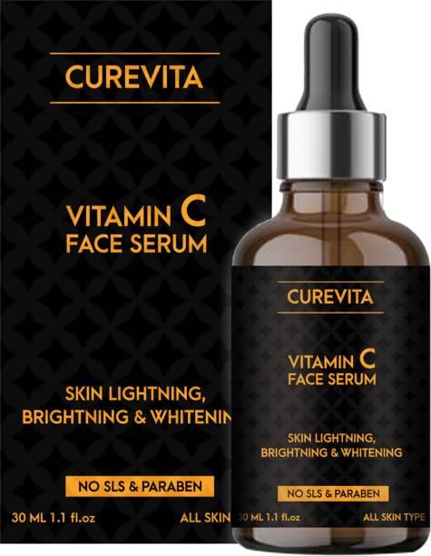 Curevita Vitamin c Face Serum for Skin Whitening & Lightening