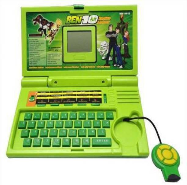 Adimac Ben 10 English Learner Kids Laptop with 20 Activity