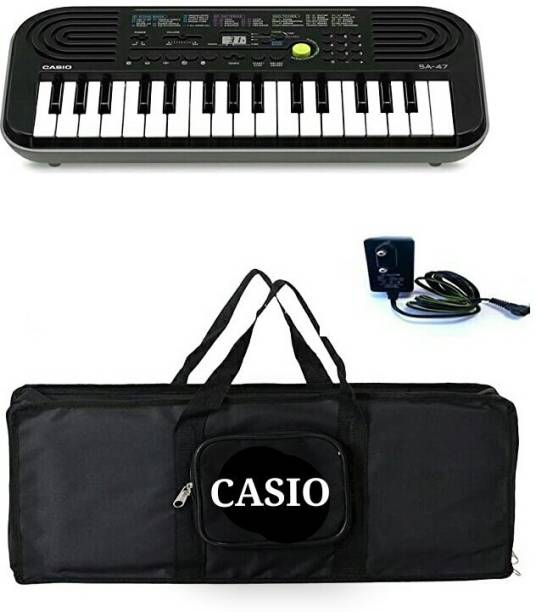 CASIO SA - 47 - CARRY CASE + LAD-6 ADAPTER SA - 47 Digital Portable Keyboard