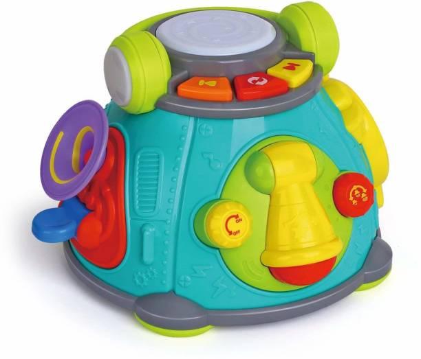 Smartcraft Karaoke Space Capsule Activity Toy, Musical Instruments Karaoke Microphone Activity Space Capsule Toy