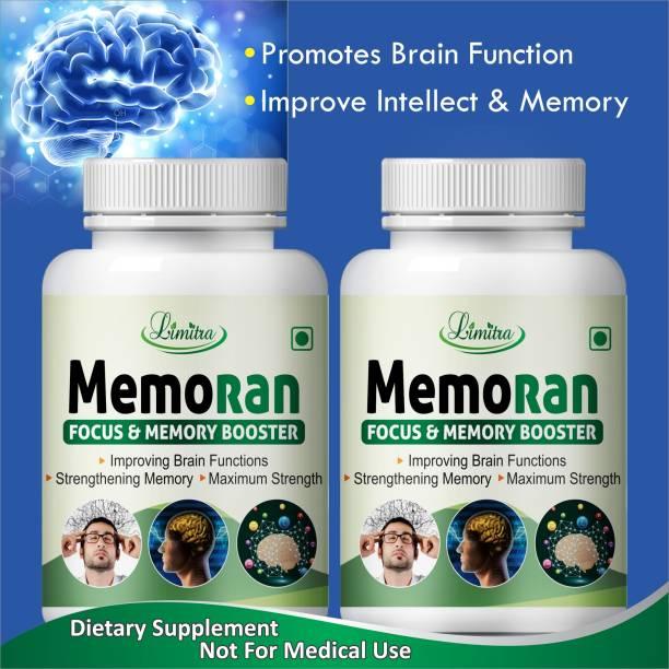 Limitra Memoran, for focus & memory booster 100% Natural