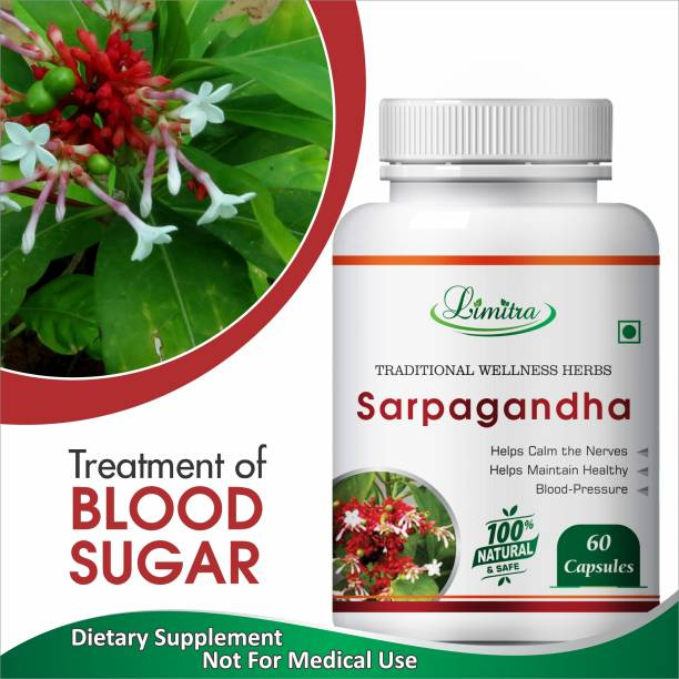 Limitra Sarpagandha, Helps Calm the Narves and Maintain Healthy 100% Natural