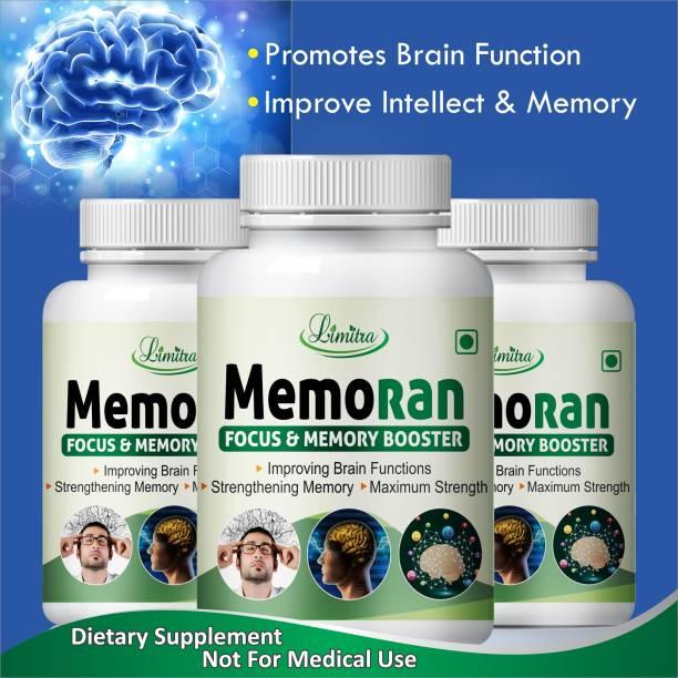 Limitra Memoran, For Memory Power & Focus memory Booster 100% natural