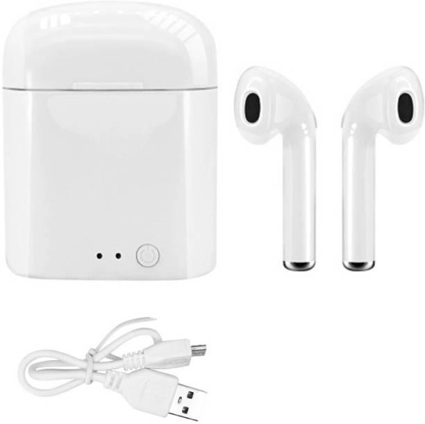 AMUSING Sports Headphone New Stylish i7S Twins earbuds Wireless Earphone Bluetooth Headset