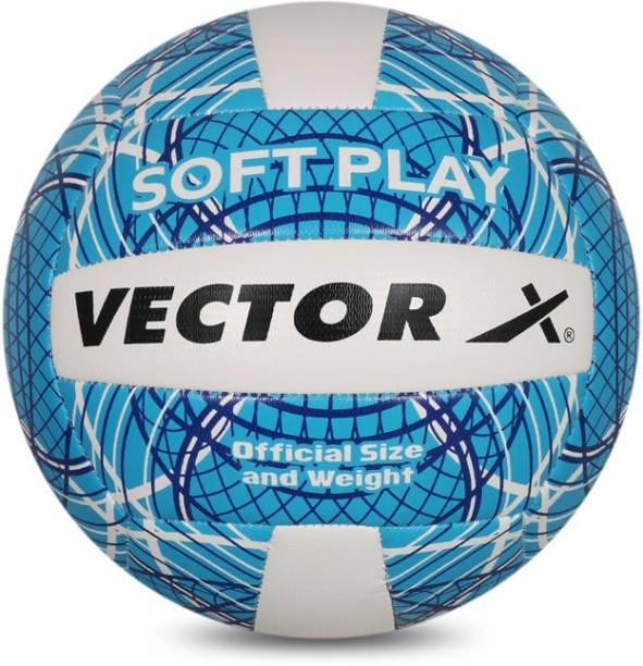 VECTOR X Soft Play Volleyball - Size: 4