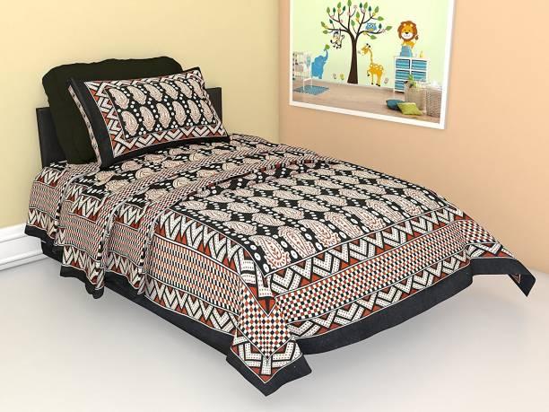 JAIPURI CREATION 150 TC Cotton Single Printed Bedsheet