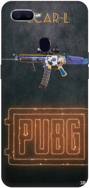 Snapcrowd Back Cover for Oppo F9 Pro Pubg Scra-l Gun back cover
