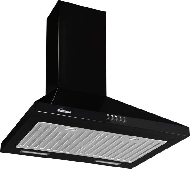 SUNFLAME Venza BK Wall Mounted Chimney