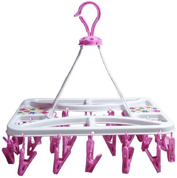 PRAPTI PLASTIC CLOTH CLIPS HANGING / HANGER, CLOTH DRYER, IDEAL FOR SMALL CLOTHES, INFANT CLOTHES Plastic Cloth Clips