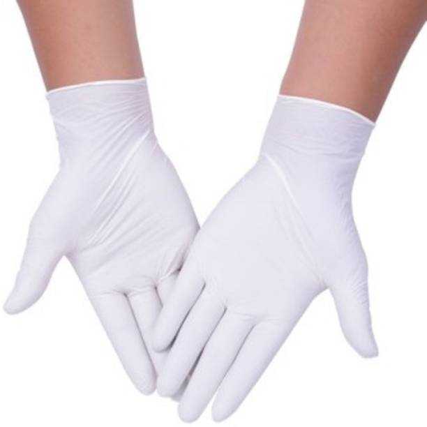 RRHR SALES White hand gloves disposable for men women and kids gloves available for surgery and protection against germs surgical hand gloves pieces Latex Surgical Gloves Rubber, Latex Surgical Gloves