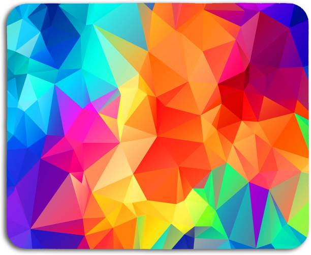 Studio Shubham abstract Colorful anti skid mouse pad for laptop / mouse pad for computer / mouse pad for gaming / mouse pads for pc Mousepad