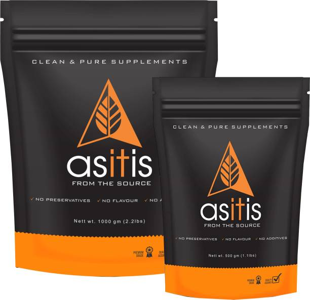 AS-IT-IS Nutrition Mass Gainer - 1.5kg Combo | Do-It-Yourself Mass Gainer | Unflavored Weight Gainers/Mass Gainers