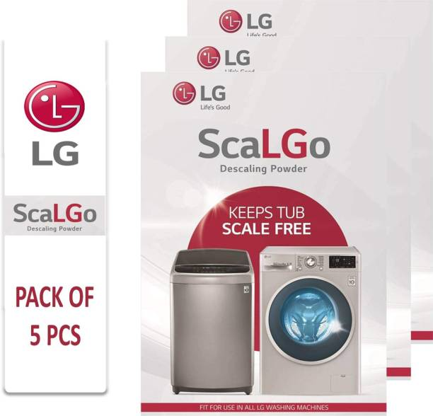 LG Descaler LG ScaLGo Descaling Powder for Washing Machines 100 g (Pack of 5) Stain Remover