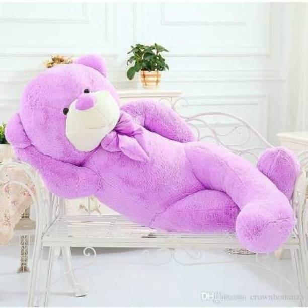 SOFTY FOFTY beautyful teddy bear purple  - 90.2 cm