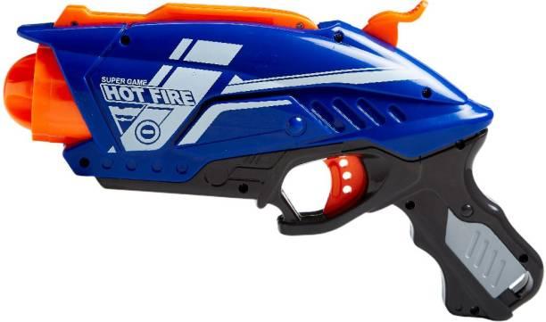 Miss & Chief Manual Rapid Shooter Blaze Gun with 20 Foam Bullets for Kids Guns & Darts