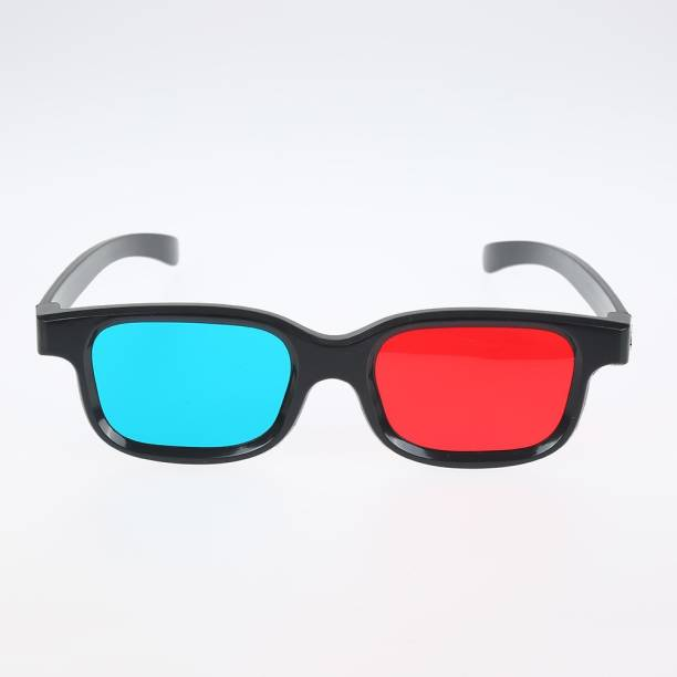 Jambar Red and Cyan 3D Glass Video Glass for 3D print, magazines, comic books, TV ,Anaglyph photos Video Glasses