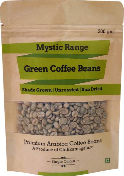 Mystic Range Green Coffee Beans for Weight Loss, Healthy Skin & Natural Detox Coffee Beans