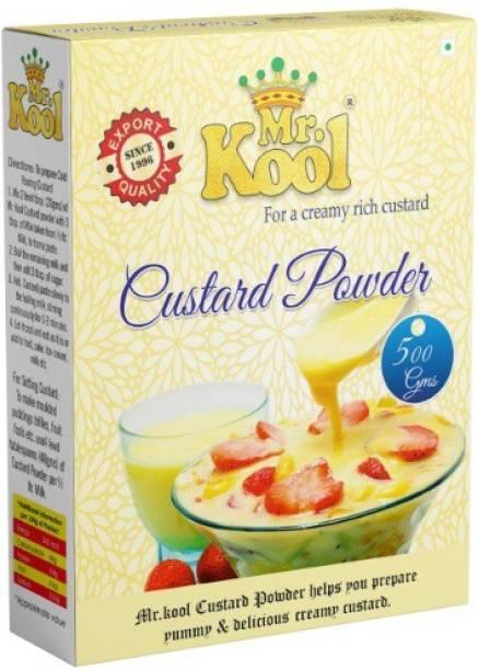 Mr.Kool Premium Quality Vanilla Instant Custard Powder 500g Custard Powder