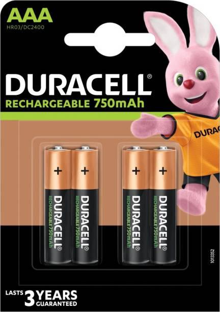 DURACELL Plus A A A - 4 Pcs - 750 mAh  Battery