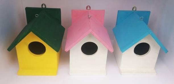 ganga enterprise BN-PGB-007 PACK OF 3 NEST Bird House