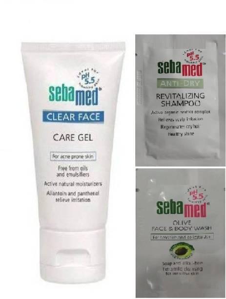 Sebamed Clear Face Foam Face Wash(150 ml) with Sample Sachets