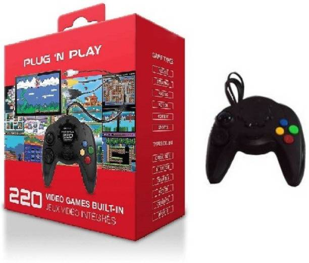 Clubics PSP Plug N Play Hand Video Game for children (Black) 1 GB with MARIO