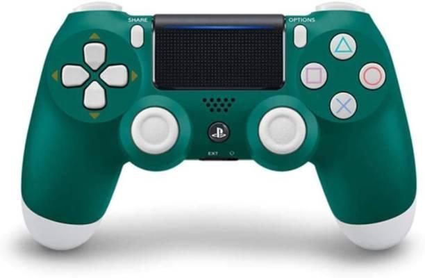 Ragavi Traders PS4 Dualshock 4 - Blue Crystal Wireless Controller  Joystick