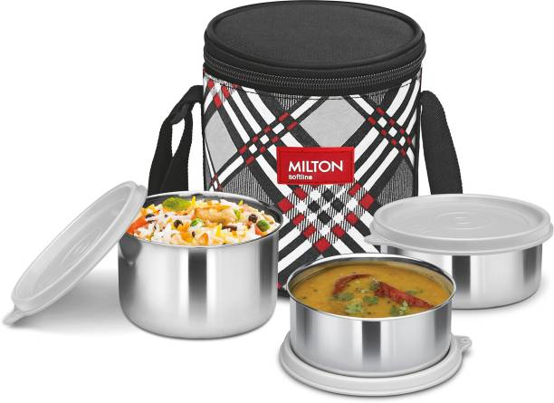 MILTON Smart Meal 3 3 Containers Lunch Box
