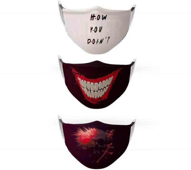Urban Alien 3 Layer Face Protection Unisex Mask FMU-00009 Washable Cloth Mask