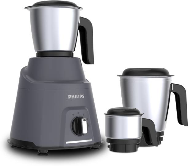 PHILIPS Avengers HL7760/00 750 Mixer Grinder (3 Jars, Grey)
