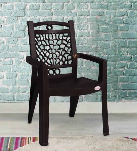 Petals Swiss Pack of 2 Plastic Outdoor Chair
