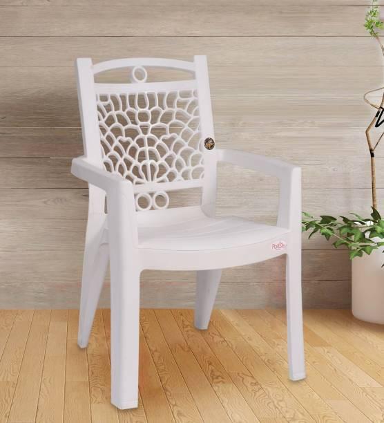 Petals Swiss Pack of 4 Plastic Outdoor Chair