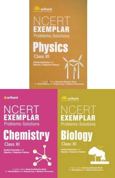 Arihant Ncert Exemplar Problems-Solutions PHYSICS, CHEMISTRY, BIOLOGY Class 11